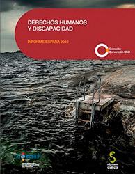Portada del libro: Derechos Humanos y Discapacidad: Informe España 2012