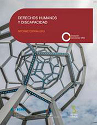 Portada del libro Derechos Humanos y Discapacidad- Informe España 2018